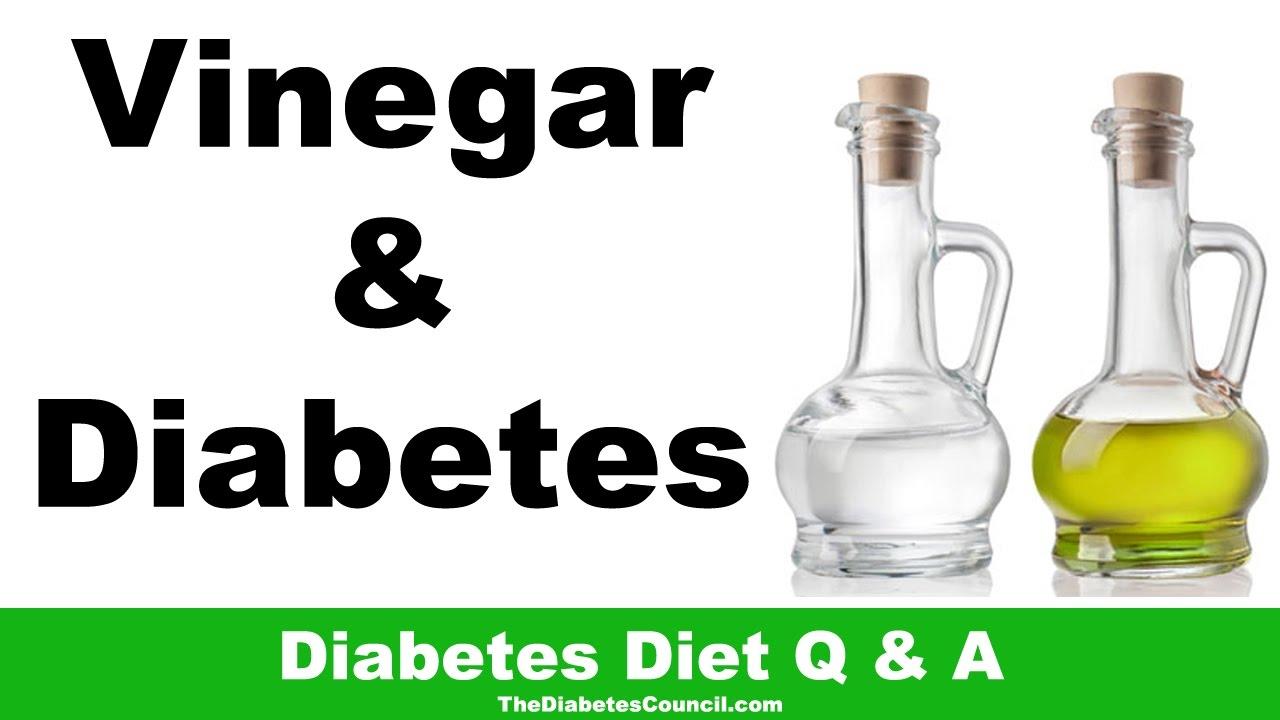 Is Vinegar Good For Diabetes? Including Apple Cider