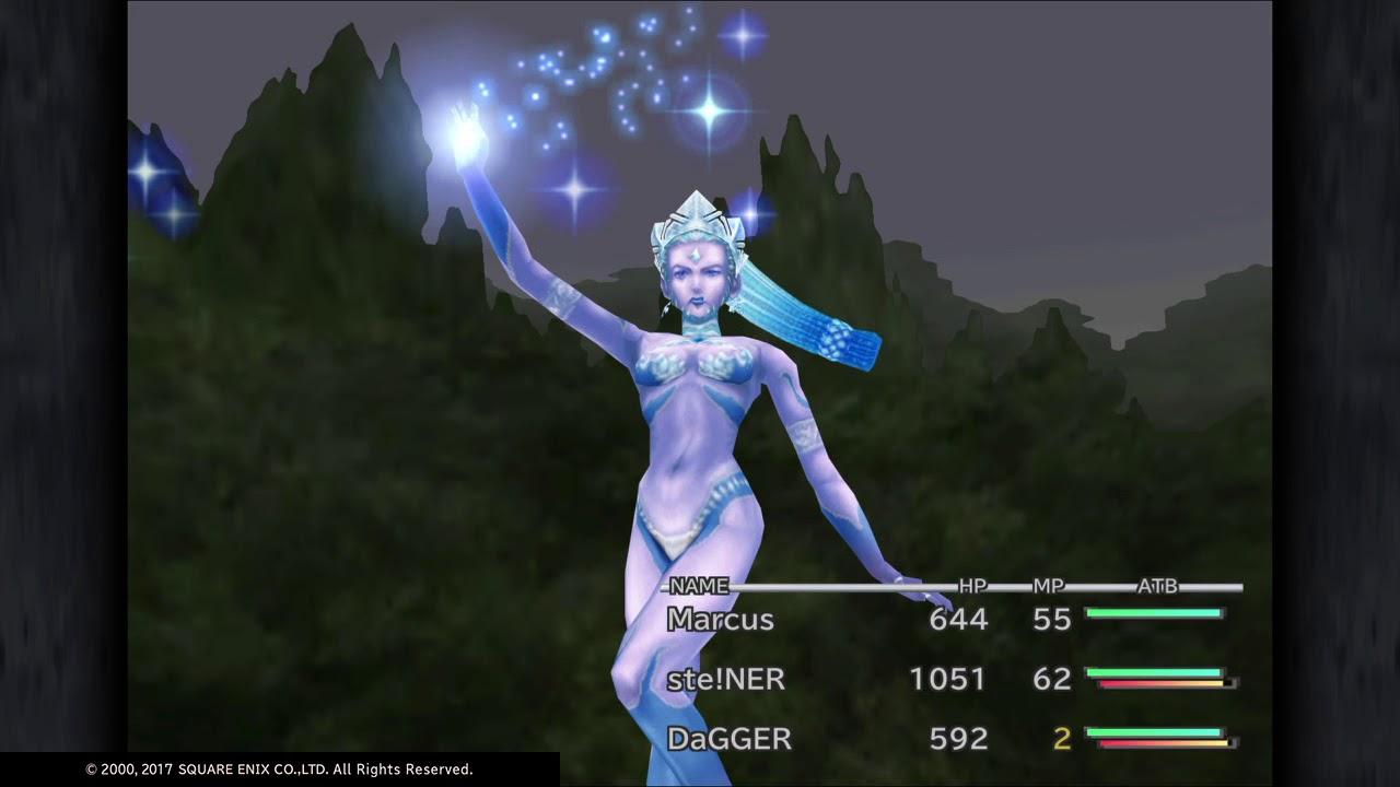 Shiva Summon Ffix Ps4 Final Fantasy Ix Youtube