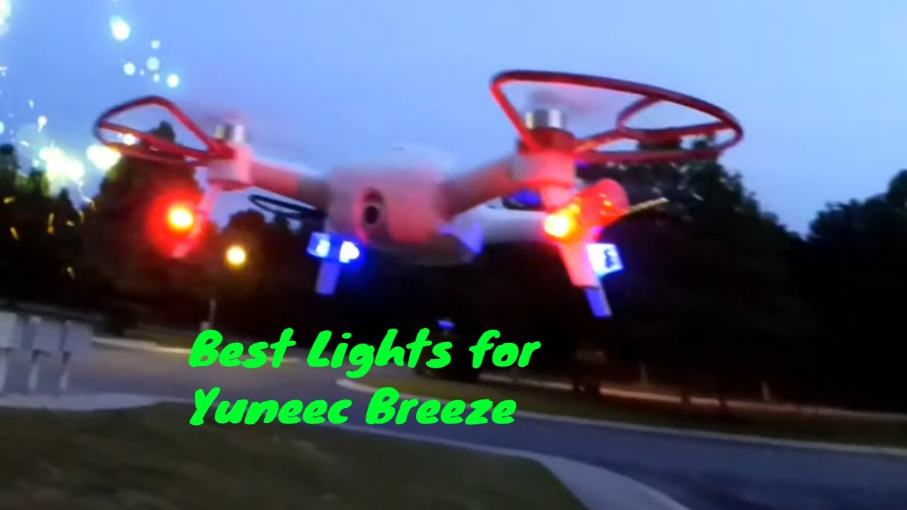 Lights for the Yuneec Breeze!!! | Yuneec-Forum com - Q500, Typhoon