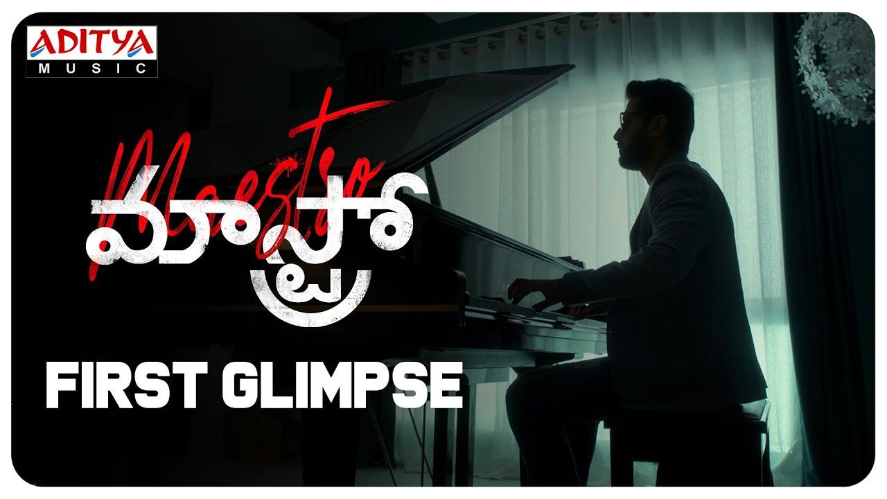 Maestro First glimpse -Andhadhun's official Telugu remake starring Nithin