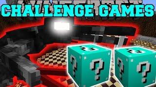 Minecraft: ALIEN CHALLENGE GAMES - Lucky Block Mod - Modded Mini-Game