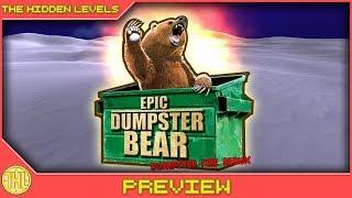 Epic Dumpster Bear: Dumpster Fire Redux - A true dumpster fire (PS4 Pro)