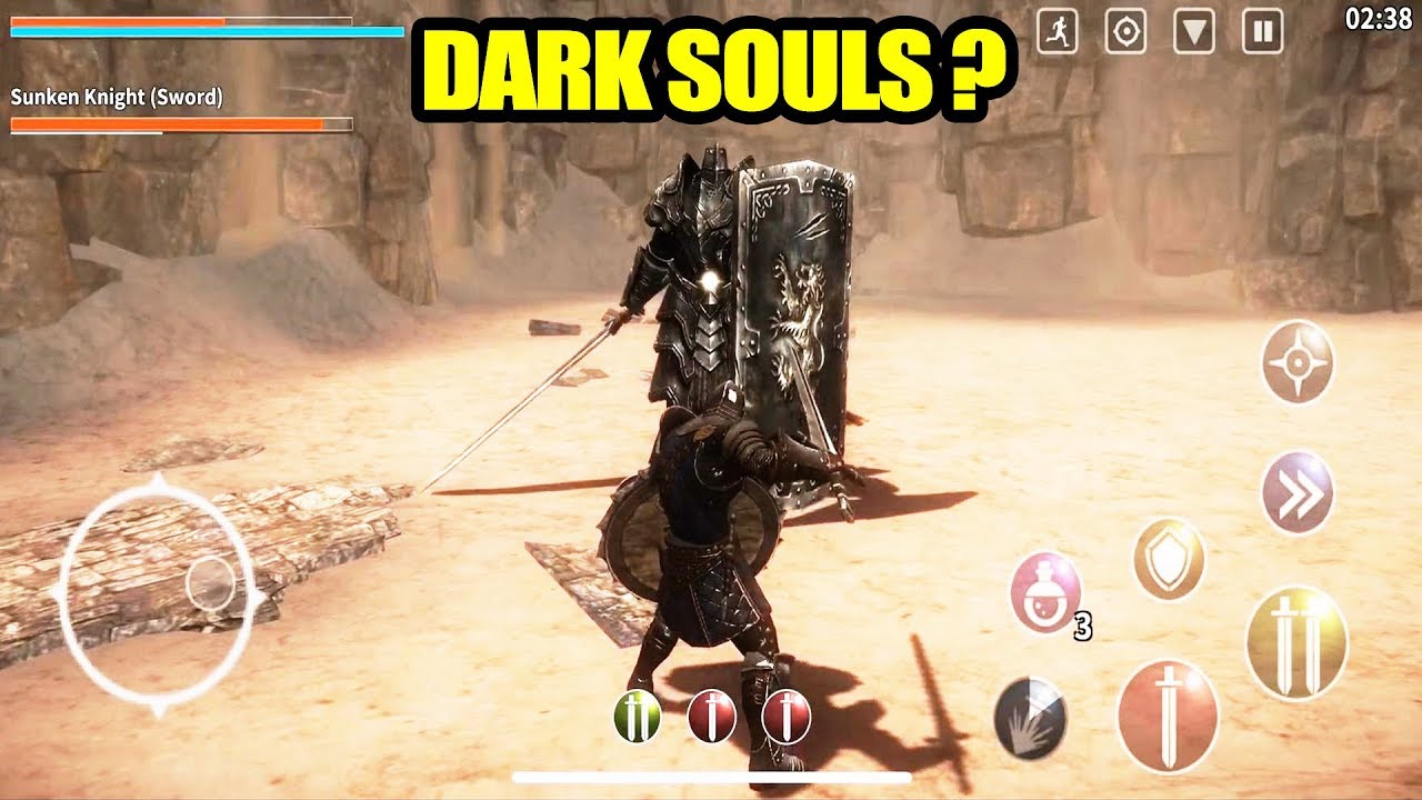 top 5 games like dark souls for ios android game of the year youtube. Black Bedroom Furniture Sets. Home Design Ideas