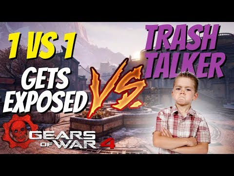 Gears of War 4: DomeZ vs Twitch Trash Talker (EXPOSED) (TOO EASY)