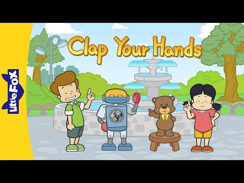 Clap Your Hands | Learning Songs | Little Fox | Animated Songs for Kids