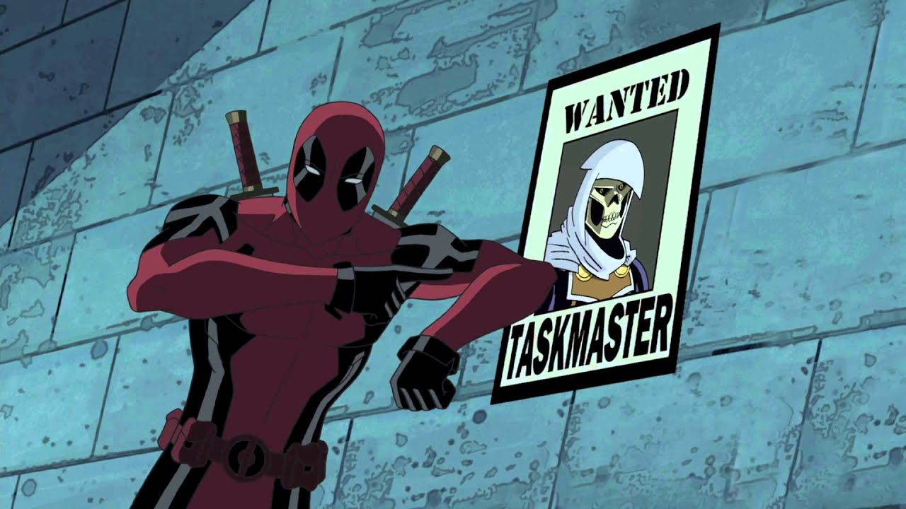 Ultimate Spider Man Clip: Spider Man Meet Deadpool   YouTube