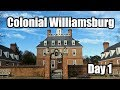 Colonial Williamsburg Christmas Week | Day 1