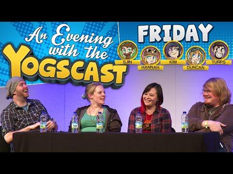 The Yogscast at EGX 2015 Q&A - Sjin, Hannah, Kim and Duncan!