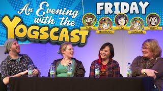 The Yogscast at EGX 2015 Q&A - Sjin, Hannah, Kim and Duncan!
