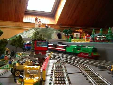 lego steam-trains - YouTube