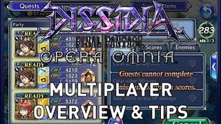 Dissidia Final Fantasy Opera Omnia - Multiplayer Overview & Tips (Lv40-60)