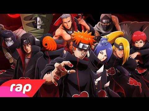 Rap Da Akatsuki (Naruto) - OS NINJAS MAIS PROCURADOS DO MUNDO | NERD HITS