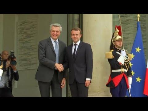 Macron reçoit Filippo Grandi, Haut-Commissaire pour les Réfugiés