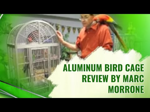 Marc Morrone on Aluminum cages