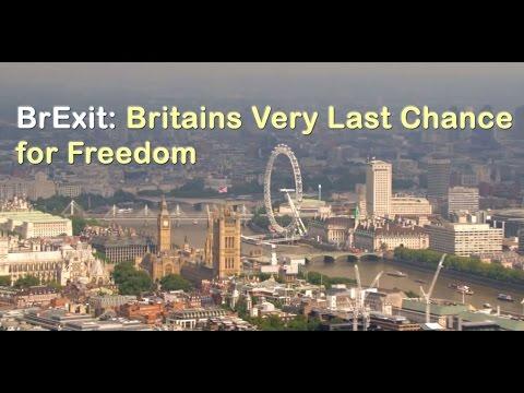 BrExit EU Referendum - Britain Set to Break FREE of European Union Superstate