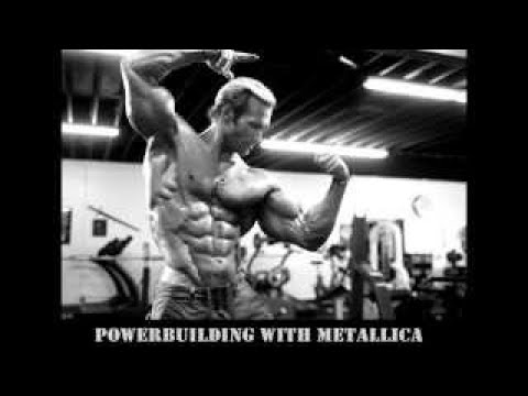 Powerbuilding with Metallica. Power workout music