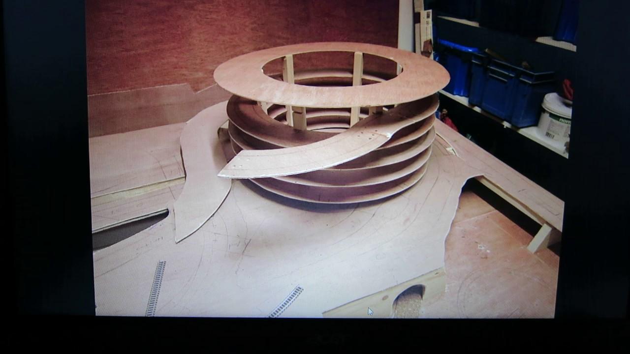construction helix r seau mod lisme ferroviaire chelle n youtube. Black Bedroom Furniture Sets. Home Design Ideas