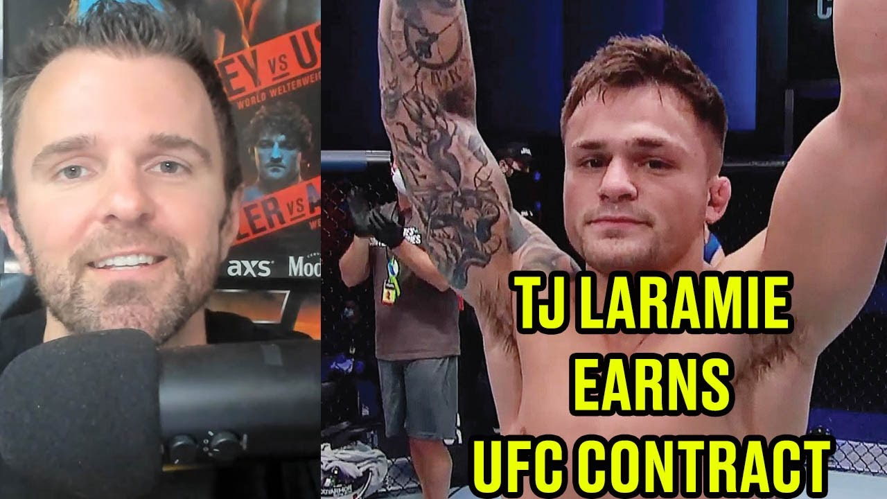 REACTION: TJ Laramie makes DWCS history winning UFC contract