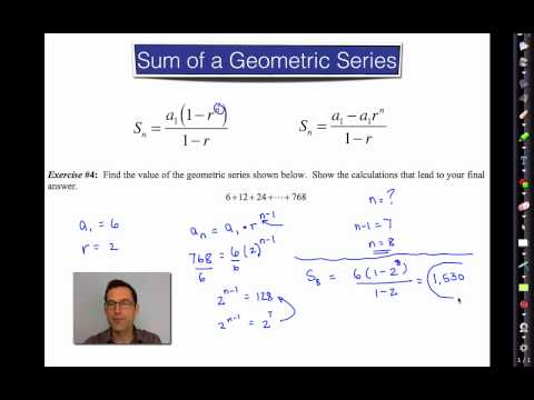 Common Core Algebra II.Unit 5.Lesson 5.Geometric Series
