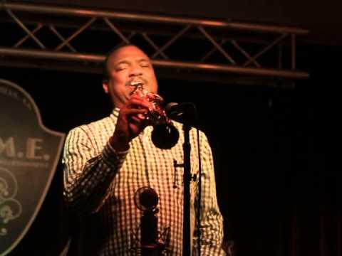 Ronnie Laws performing at H.O.M.E. supper club in Beverly Hills, CA 04/25/14