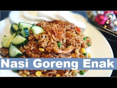Resep Rahasia Nasi Goreng Enak The Secret Recipe Of Delicious Fried Rice Youtube