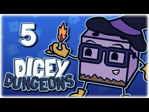 Let's Play Dicey Dungeons | Witch OP Freeze Build | Part 5 | Full Release Gameplay PC HD