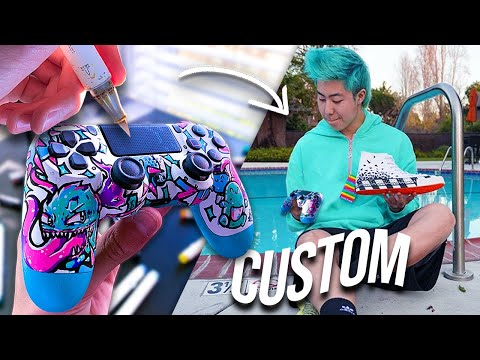 Surprising ZHC With A CUSTOM PS4 Controller !!  🎄