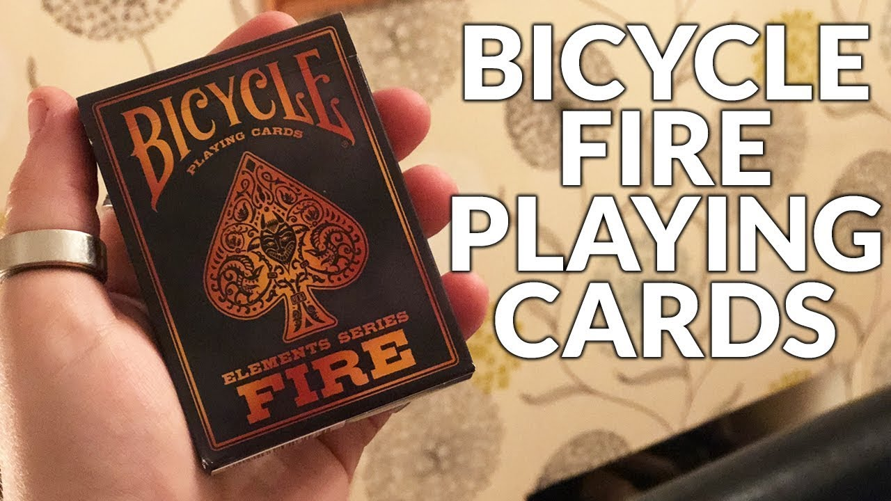 Deck Review Bicycle Fire Playing Cards Elements Series
