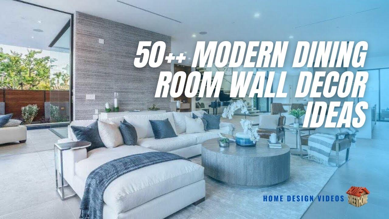 Modern Dining Room Wall Decor Ideas - [Home Design Videos] - YouTube