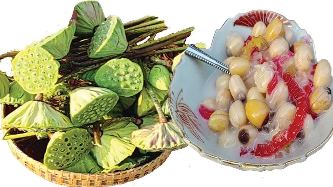 Khmer Dessert   Lotus Porridge with Tapioca