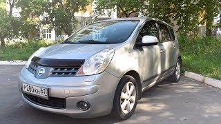 Кантри Тест-драйв Nissan Note (Ниссан Ноут), 2008 г.в., 1,4л., 88 л.с., МКПП