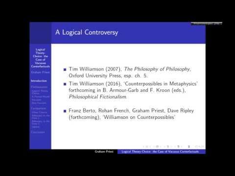 Graham Priest: Logical Theory Choice