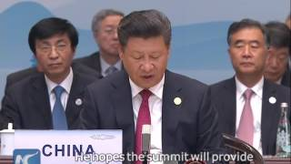 President Xi expects G20 summit to offer remedies to world economy