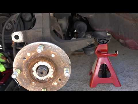 How to Replace Lower Ball Joint 2000 Honda Accord