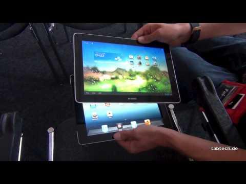 Huawei MediaPad 10 FHD vs. Apple iPad 3 - Deutsch @ IFA 2012