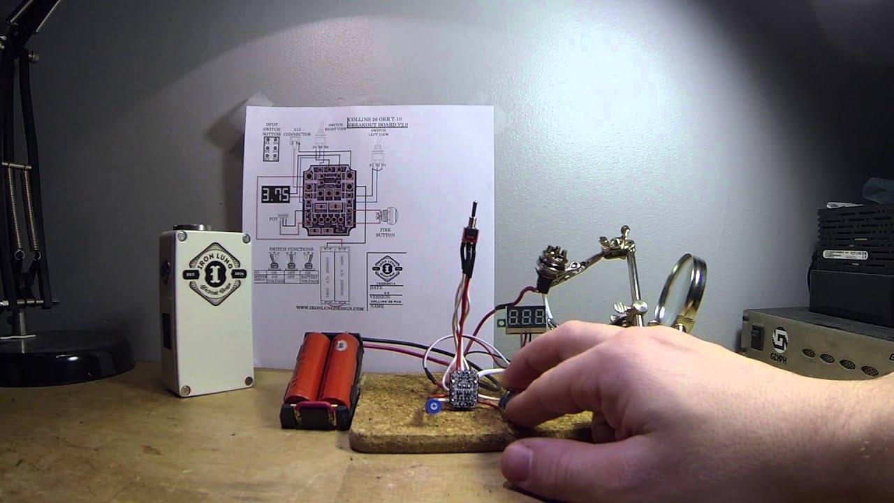 hight resolution of okr breakout board testing