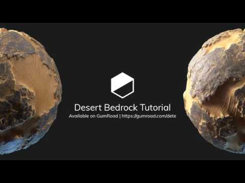 Desert Bedrock Tutorial available on GumRoad
