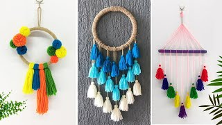 Amazing Best 3 Wall Hanging Ideas - Best DIY Crafts - Wall Decoration - Home Decor