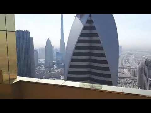 World's tallest hotel  #Gevora Hotel opens #Dubai