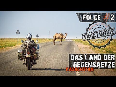 Folge #2 - Kasachstan - Das Land der Gegensätze - Motorrad-Weltreise - TimetoRide.de