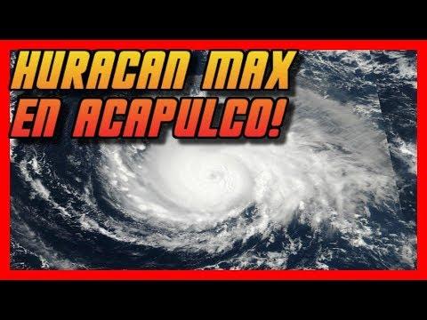 Ultimas #Noticias #Mexico Huracan Max se Acerca a #Acapulco Mexico!