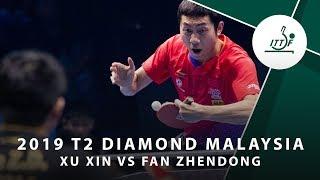 Gambar cover Xu Xin vs Fan Zhendong | T2 Diamond Malaysia (SF)