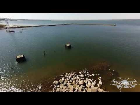 Compilation Liepāja from the sky, visit Liepaja, city center, sea, beach, and more...