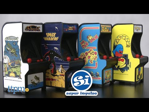 Tiny Arcade Pac-Man, Ms. Pac-Man, Space Invaders & Galaxian From Super Impulse