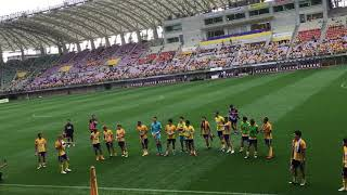 2018.9.15 J1第26節 ベガルタ仙台 1-0 FC東京 得点:OG @ユアテックスタ...