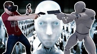 """First Person Shooter VIVE GAME """"Like I-ROBOT!"""""""