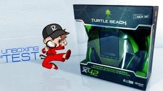 unboxing prova turtle beach ear force x42
