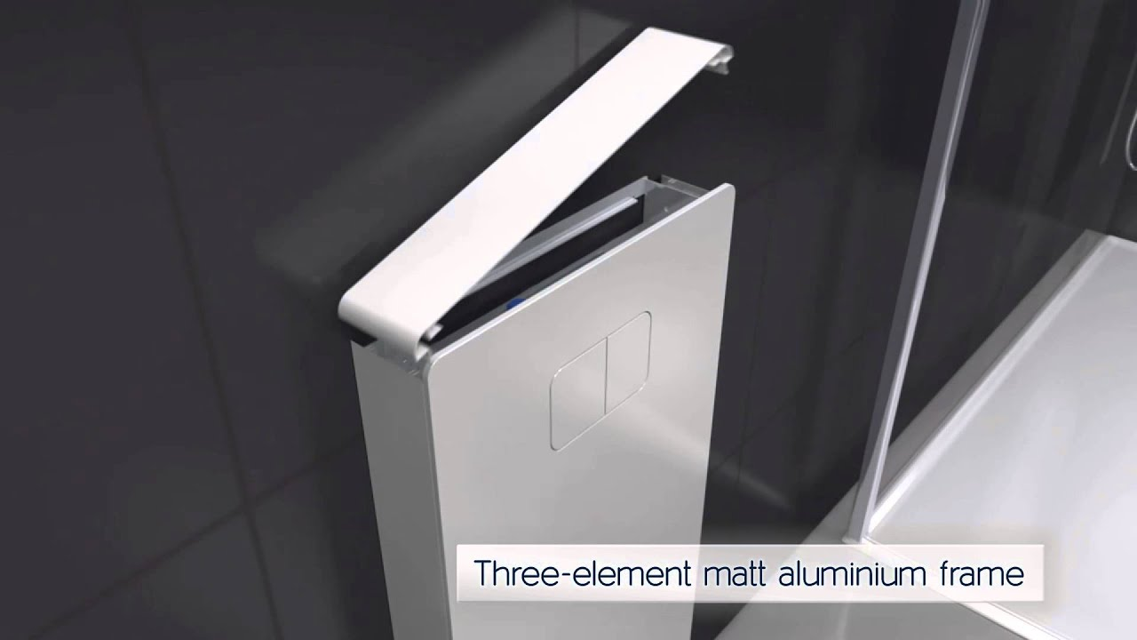 Keramag Design Universal Collection Cistern Unit - YouTube