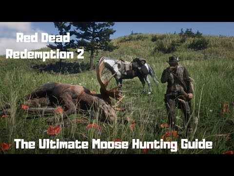 RDR2 – The Ultimate Moose Hunting Guide