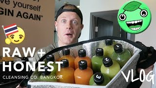 NO FOOD for 5 DAYS.. VLOG! ? (Bangkok Juice Detox vs Water Fast - for Health & Fitness)